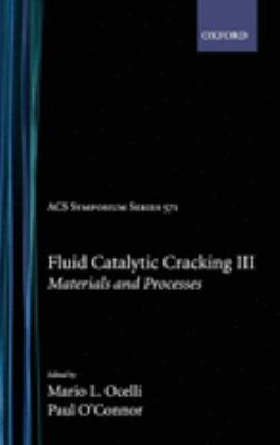 Cover image for Fluid catalytic cracking III : materials and processes