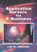 Cover image for Application servers for e-business