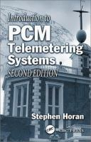 Cover image for Introduction to PCM telemetering systems