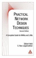 Cover image for Practical network design techniques : a complete guide for WANs and LANs