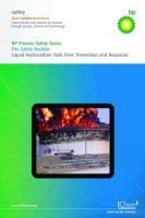 Cover image for Liquid hydrocarbon tank fires prevention and response : a collection of booklets describing hazards and how to manage them