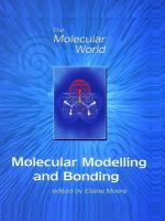 Cover image for Molecular modelling and bonding