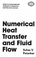 Cover image for Numerical heat transfer and fluid flow