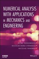 Cover image for Numerical analysis with applications in mechanics and engineering