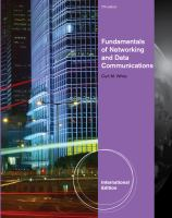 Cover image for Fundamentals of networking and data communications