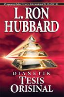 Cover image for Dianetics : tesis orisinal