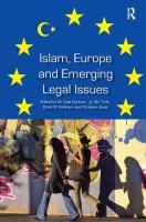 Cover image for Islam, Europe and emerging legal issues
