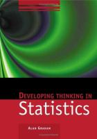 Cover image for Developing thinking in statistics