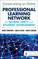 Cover image for Constructing an online professional learning network for school unity and student achievement