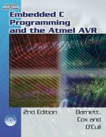 Cover image for Embedded C programming and the Atmel AVR