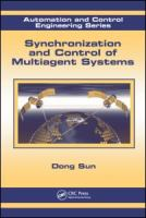 Cover image for Synchronization and control of multiagent systems