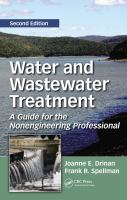 Cover image for Water and wastewater treatment : a guide for the nonengineering professional