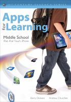 Cover image for Apps for learning, middle school : iPad, iPod Touch, iPhone