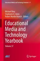 Cover image for Educational media and technology yearbook. Volume 37