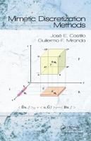 Cover image for Mimetic discretization methods