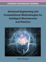 Cover image for Advanced engineering and computational methodologies for intelligent mechatronics and robotics