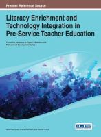 Cover image for Literacy enrichment and technology integration in pre-service teacher education