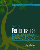 Cover image for Performance basics : a complete, how-to guide to help you ; understand human performance improvement (HPI), build confidence to adopt a performance approach, apply HPI to your practice or organization