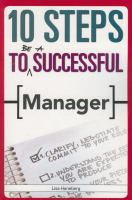 Cover image for 10 steps to be a successful manager