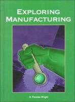 Cover image for Exploring manufacturing