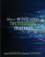 Cover image for When writing with technology matters