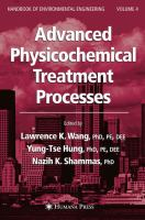 Cover image for Advanced physicochemical treatment processes