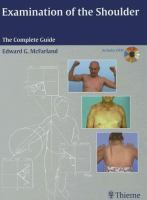Cover image for Examination of the shoulder : the complete guide