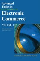 Cover image for Advanced topics in electronic commerce