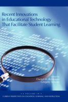 Cover image for Recent innovations in educational technology that facilitate student learning
