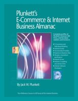 Cover image for Plunkett's e-commerce and internet business almanac 2009 : the only comprehensive to the e-commerce and internet industry