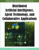 Cover image for Distributed artificial intelligence, agent technology, and collaborative applications