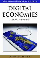 Cover image for Digital economies : SMEs and e-readiness