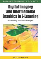 Cover image for Digital imagery and informational graphics in E-learning : maximizing visual technologies