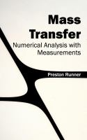 Cover image for Mass transfer : numerical analysis with measurements