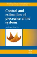Cover image for Control and estimation of piecewise affine systems