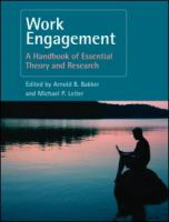 Cover image for Work engagement : a handbook of essential theory and research