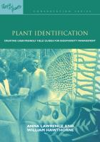 Cover image for Plant identification : creating user-friendly field guides for biodiversity management
