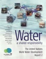 Cover image for Water : a shared responsibilty