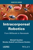 Cover image for Intracorporeal robotics : from milliscale to nanoscale