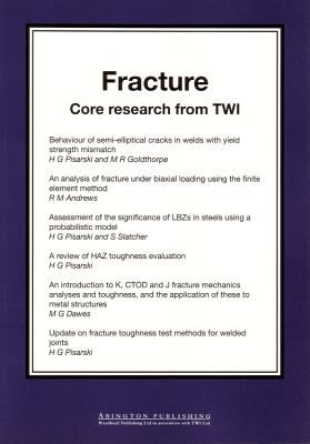 Cover image for Fracture : core research from TWI