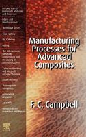 Cover image for Manufacturing processes for advanced composites