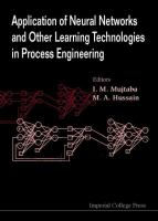 Cover image for Application of neural networks and other learning technologies in process engineering