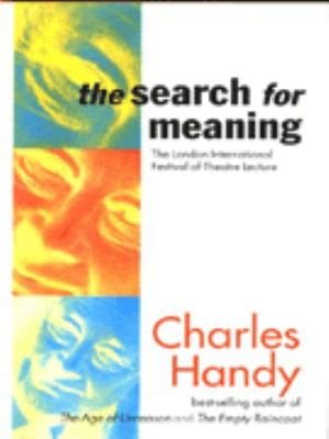 Cover image for The search for meaning