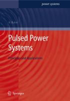 Cover image for Pulsed power systems : principles and applications