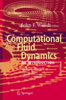 Cover image for Computational fluid dynamics : an introduction