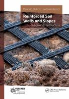 Cover image for Reinforced soil walls and slopes : design and construction