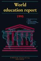 Cover image for World education report 1995