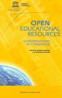 Cover image for Open educational resources : conversations in cyberspace