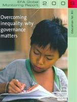 Cover image for Overcoming inequality : why governance matters.