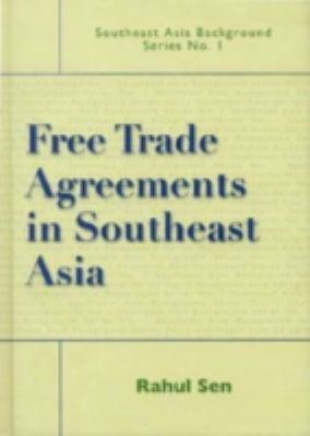 Cover image for Free trade agreements in Southeast Asia